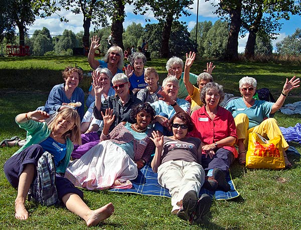Members of Older Women's Co-Housing of Barnet