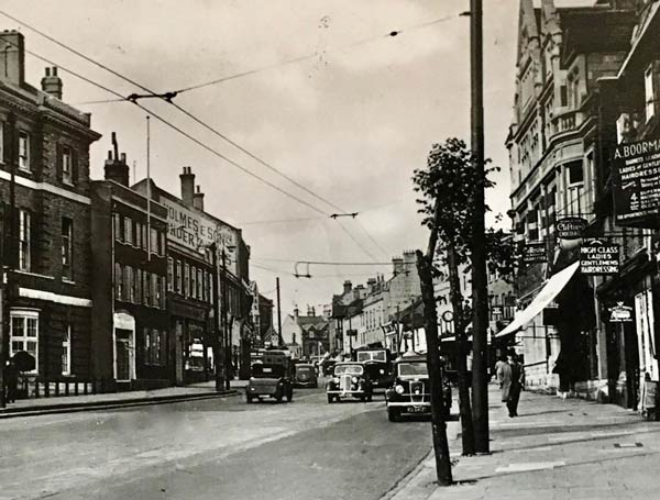 High Street in the 1940's