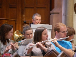 Da Capo flutes and woodwind section