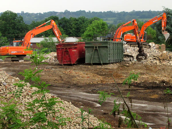Demolition work on the Elmbank site should be completed by July