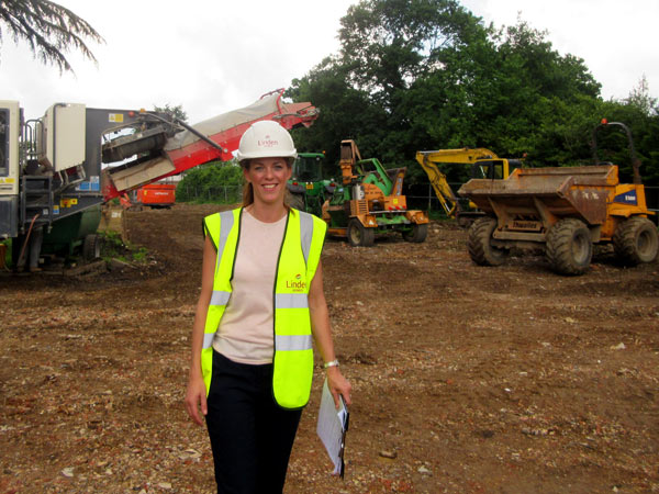 Ami Winter is the senior sales manager for the Elmbank development and the first show home should be ready by November