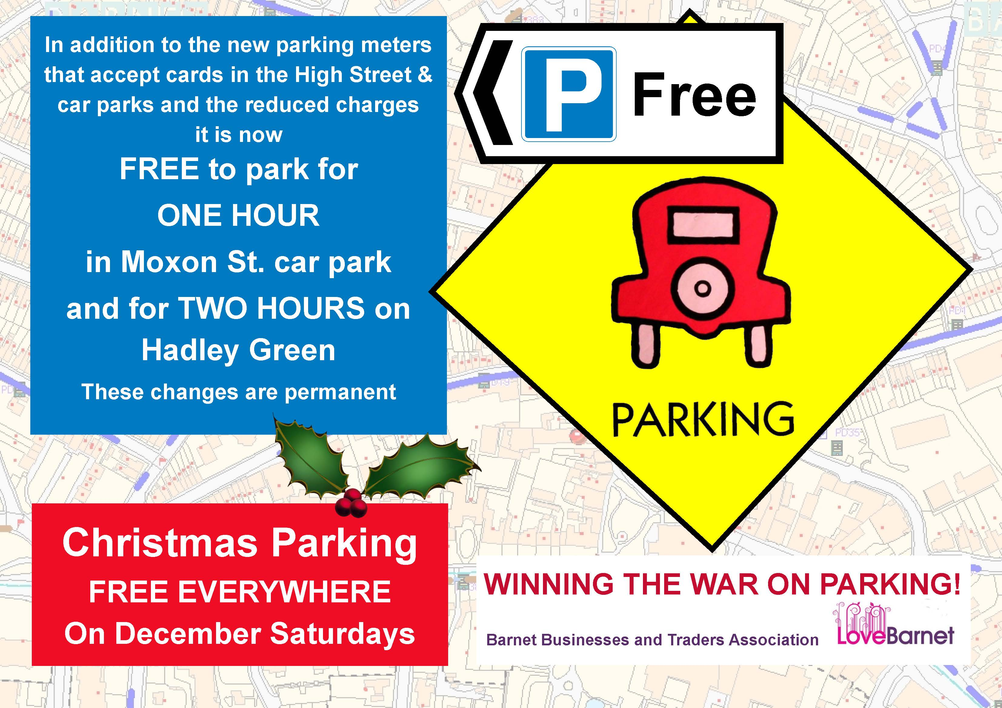 Free Parking Leaflet