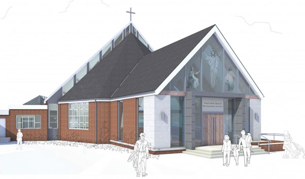 Artists impression of new extension