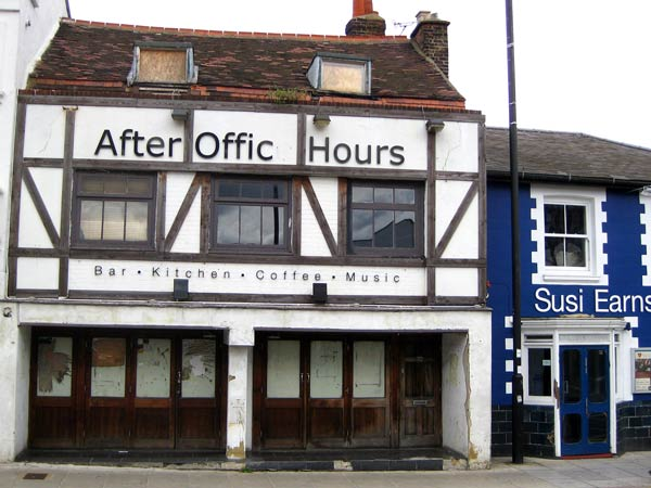 A planning application has been submitted to demolish and rebuild After Office Hours