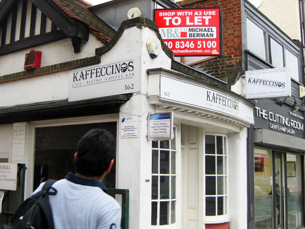 Kaffecinos cafe closed in August blaming high rents and rates