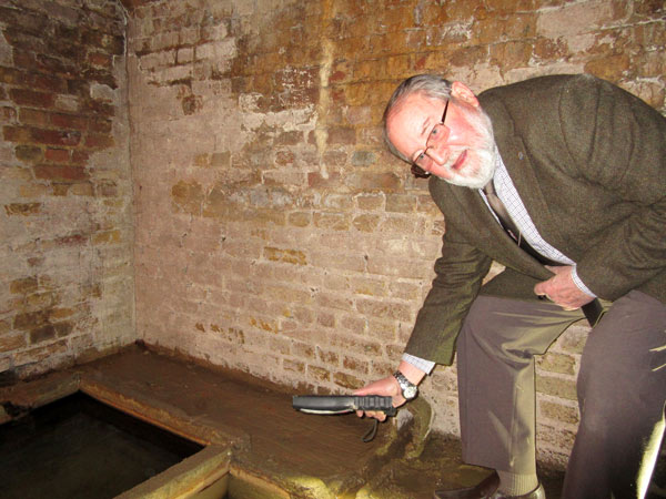 Mike Jordan, chair of Barnet Museum's trustees, will show visitors around
