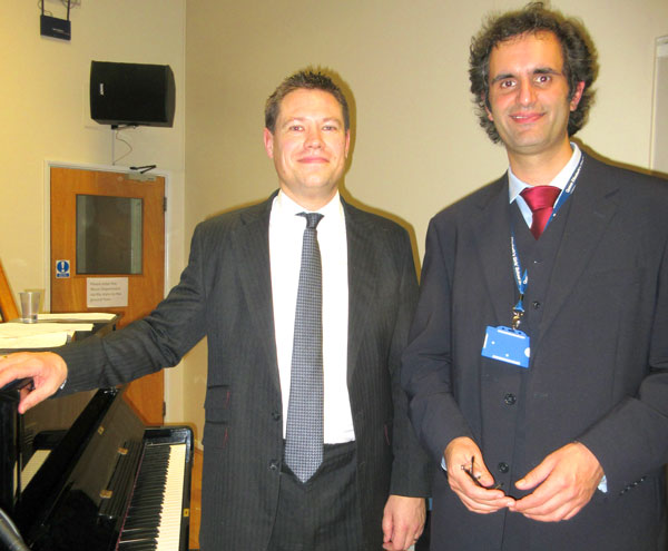 QE Girls' Ant and Dec double act, music teachers Paul Nathan and Stephan Verma