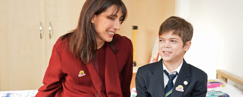 Samantha Cameron at the ground-breaking ceremony