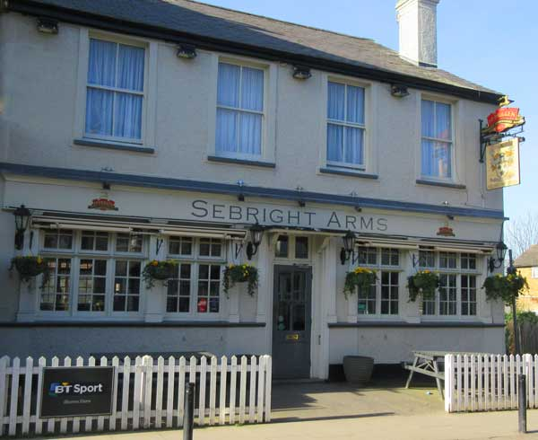 The Sebright Arms has just regained its listing as an asset of community value
