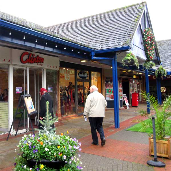 The empty Clinton Cards shop, plus three other units alongside it, will be replaced by a two-storey fashion store if planning permission is obtained