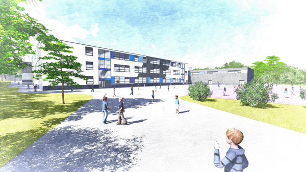 The new school will open in September 2018 and will be non-selective, non-denominational and mixed-gender, with an intake of 60 nursery, 90 reception age and 180 year 7 age children each year until it reaches capacity in September 2024.