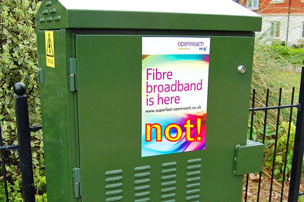BT broadband is not available to all High Barnet residents