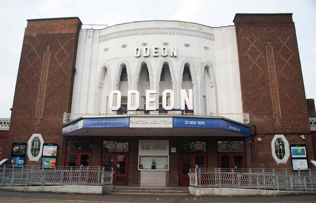 The Everyman Cinema - previously the Barnet Odeon built in 1935