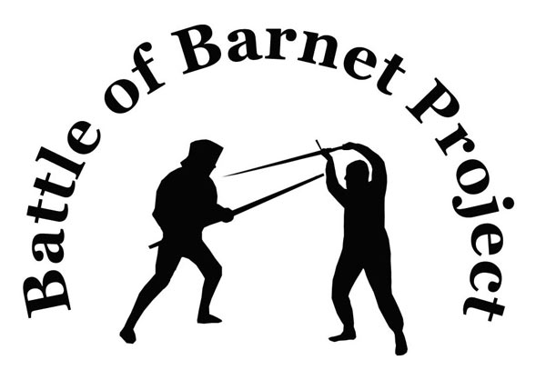The Battle of Barnet Project logo