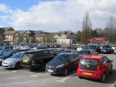 Barrnet Hospital Car Park
