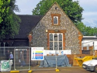 Christ Church School is being extensively renovated to provide a drop-in facility for the elderly