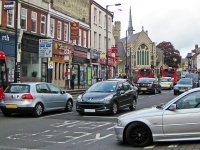 High Barnet traffic mayhem