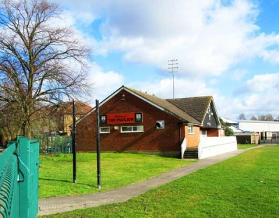 Public access is currently denied to the former Barnet Cricket Club pavilion and its playing field at Underhill