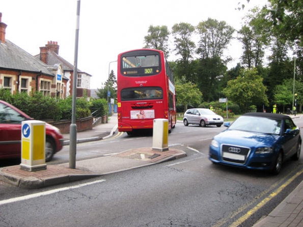 Wellhouse junction on Wood Street blackspot