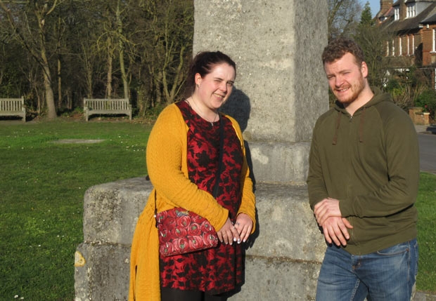 Liz Bown, chair of the Barnet 1471 Battlefields Society, and committee member Ed Jones, are working on plans for a wreath laying ceremony at Hadley Highstone to commemorate those who fell at the Battle of Barnet of 14 April 1471.