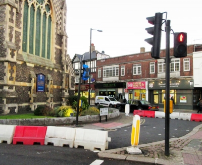 Junction at Wood Street and High Street