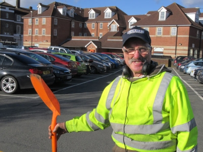 Keeping the High Street tidy