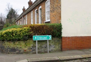 Ensuring historic footpaths are preserved