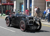 Barnet's classic cars joined by vintage armoured vehicles