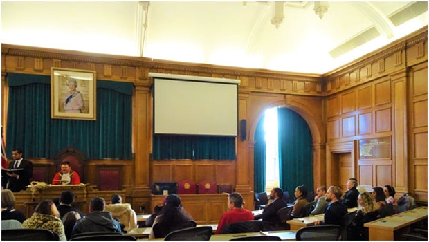 The London Borough of Barnet's Council Chamber