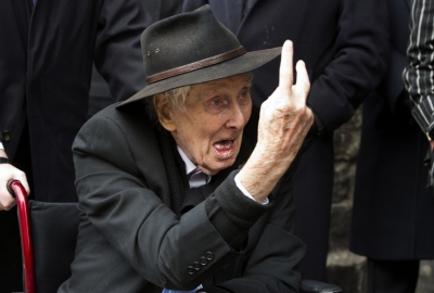 Imfamous Barnet resident Ronnie Biggs