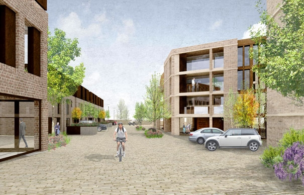Visualisation of the proposed Brake Shear House development
