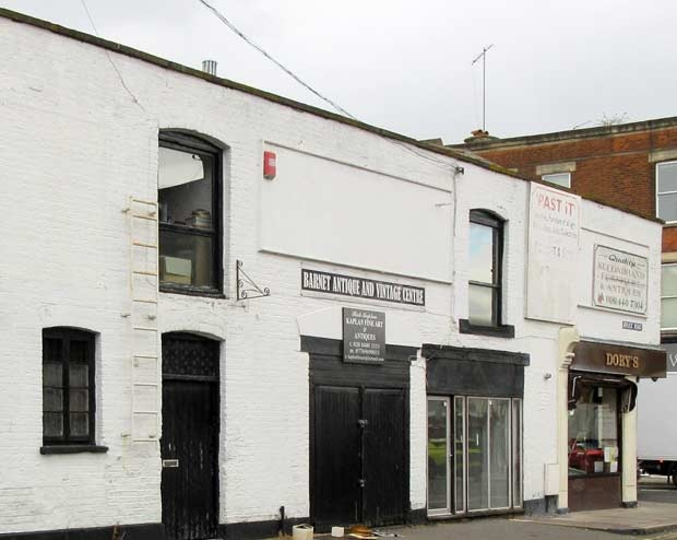 Barnet Antique and Vintage Centre could become a house in multiple occupation offering nine self-contained rooms with two communal kitchens