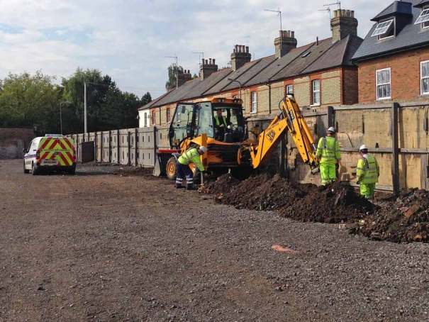 Work commences on the long awaited upgrade to facilities at Barnet Market