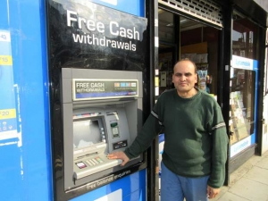 Hefty council tax bill for High Street cash machine