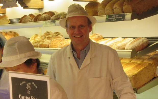 James Freeman's last day of trading at Victoria Bakery
