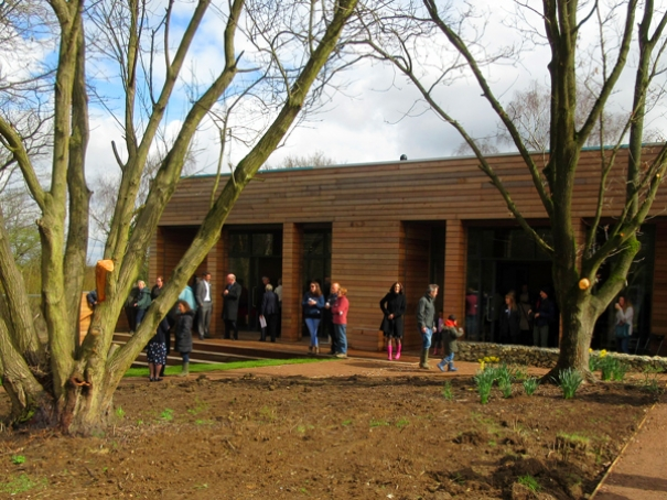 The new Barnet environment centre at the Byng Road nature reserve
