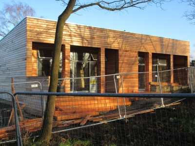 New environment centre almost completed