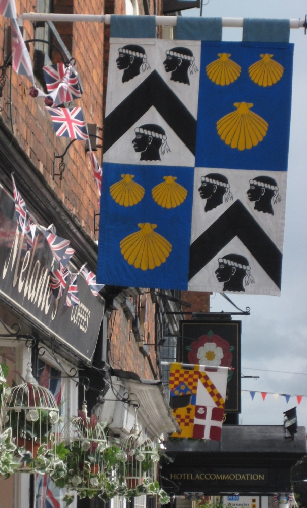 Banners similar to those displayed in Tewkesbury could be seen on Barnet's High Street