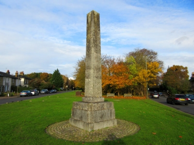 Hadley Highstone is the sole local reminder of the Battle of Barnet