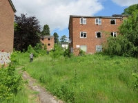 Derelict flats that once provided accommodation for nurses at Barnet Hospital have been an eyesore for years