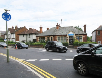 The Wellhouse mini roundabout