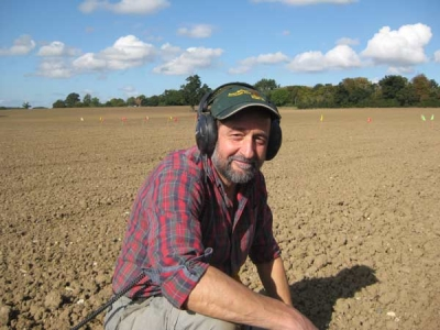 Dr Glenn Foard, Huddersfield University's celebrated military archaeologist