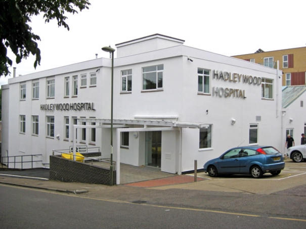 The new Hadley Wood Hospital without the additional two floors