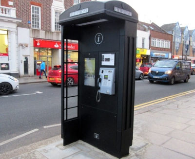 High Barnet's super-size smart telephone kiosk – an eyesore say its critics