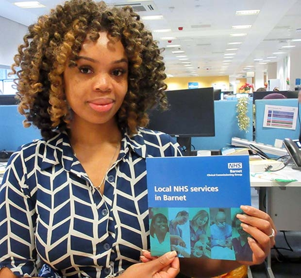 Atinuke Phillips of the Barnet Clinical Commissioning Group has prepared a new leaflet giving local health care advice