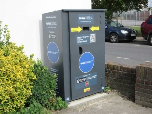 Barnet's knife bin for saving lives