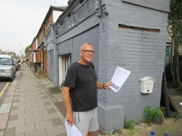 Planners are promising Roger Newell a speed answer on possible redevelopment