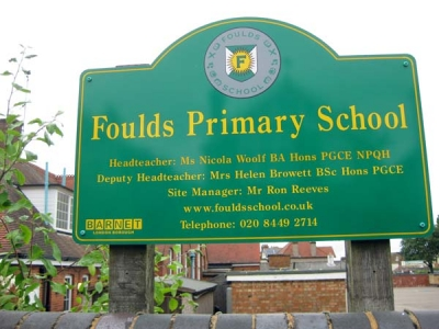 Of seven local primary schools, Foulds was the most heavily oversubscribed