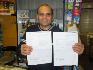 Shopkeeper's victory in council tax row