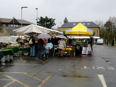 Stall holders at Barnet Market hope the switch to a site closer to the Spires will boost trade